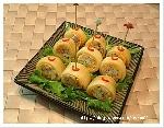 김치 치즈말이 주먹밥.
