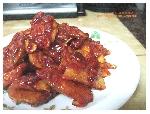 [전음식재활용]고구마양념강정