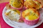 계란밥 컵케익 이색 계란
