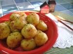 휴게소 감자 - 알 감자 버터구이