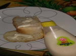 울딸 이 만들어온 바게트빵을 ^^