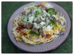 감자채 피자 / 야채피자