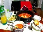 얼려논 가래떡과 울고있는 양배추